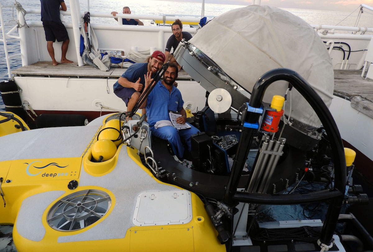 Submersible with crew
