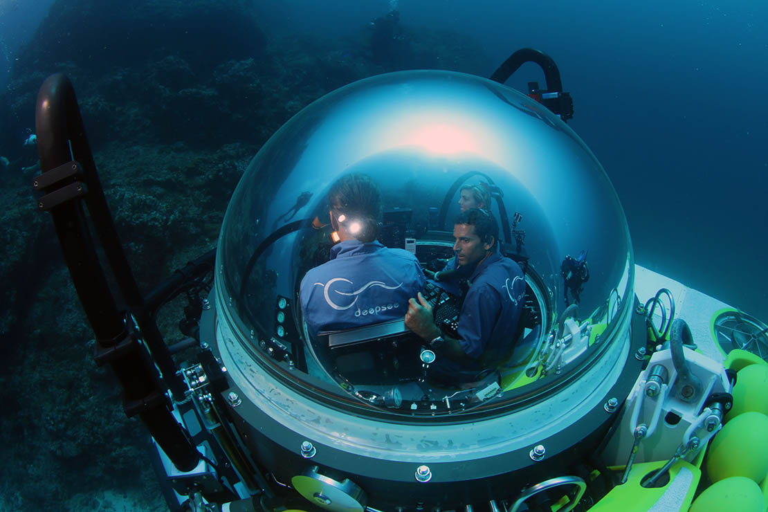 DeepSee Submersible trips