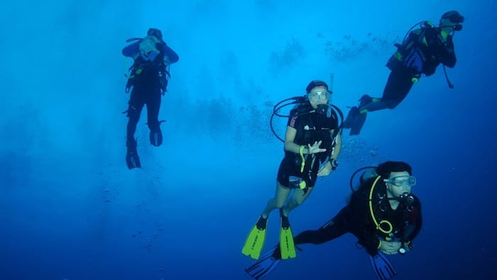 Drift Diving in the Maldives