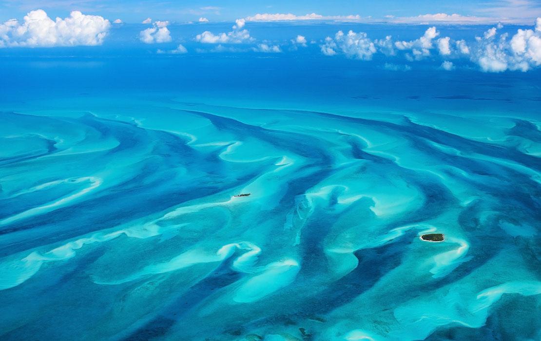 The pristine Bahamas