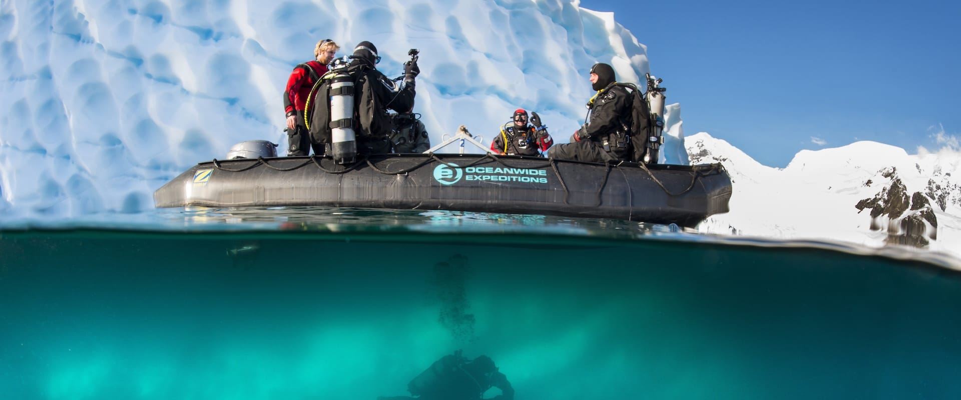 Antarctic Peninsula Liveaboard Diving