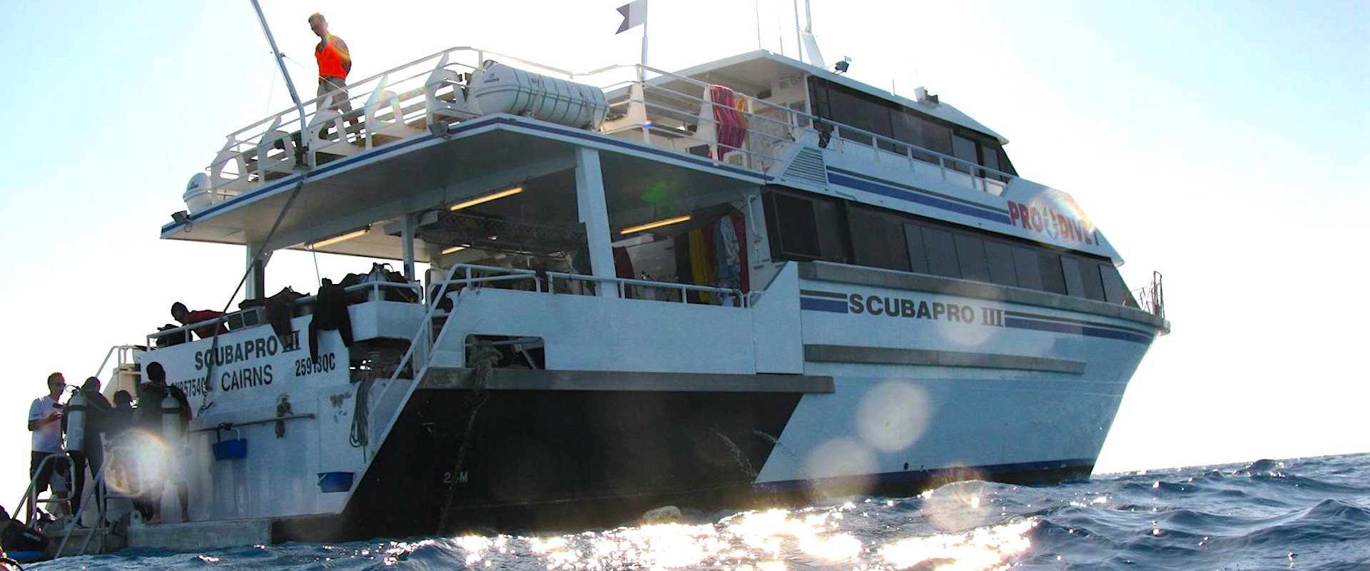 Pro Dive Cairns Liveaboard Fleet